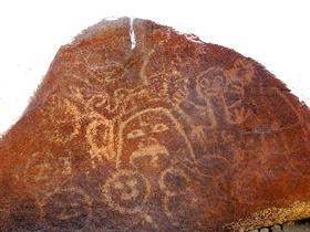 Petroglifos de Alto de las Guitarras