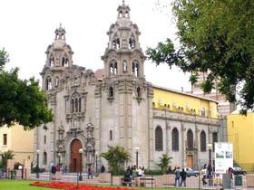 Iglesia Matriz de Miraflores   Parroquia Virgen Milagrosa