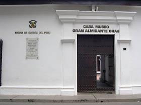 Casa Museo Miguel Grau (Marina de Guerra del Perú)