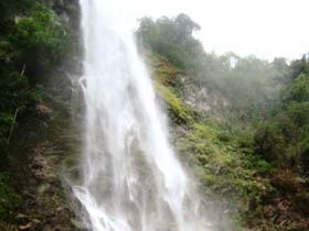 Caída de Agua Santa Rosa