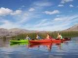 ingresando a la reserva nacional del titicaca