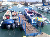 Boarding and safe boarding at Marina Club