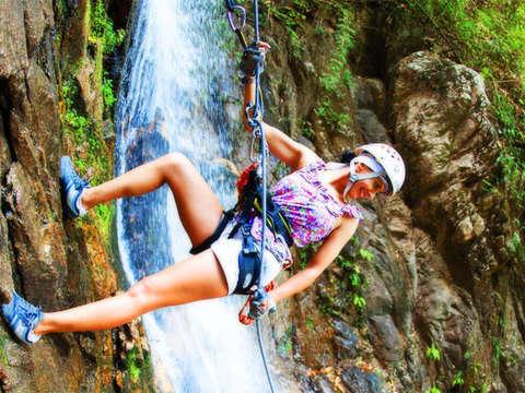 Rapel en la Cascada Huanano Aventura Extrema