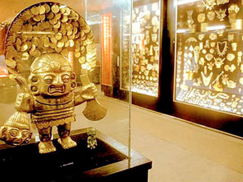 Guided Tour to the Gold Museum
