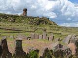 Foto de Sillustani: Cementerio Pre-Inca