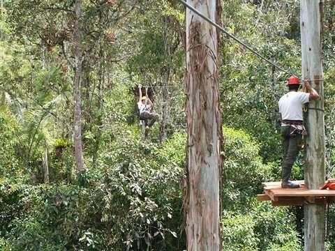 Canopy Zipline: Genial Circuito en Oxampampa