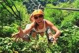 Full adrenalina en Disfruta Canopy Doble Linea de Deslice en Lunahuana