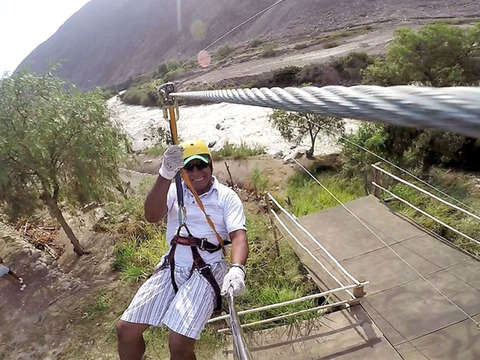 Enjoy Canopy Double Line of Slide in Lunahuana