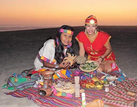 Pachacamac Ritual Andino