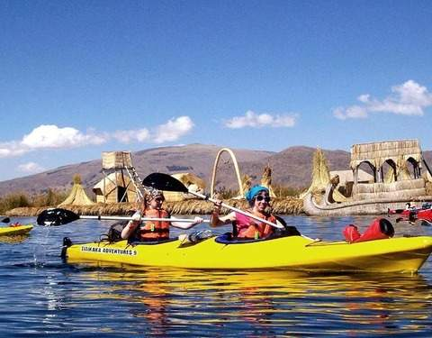2d / 1n - Kayak to Uros Island and Amantani