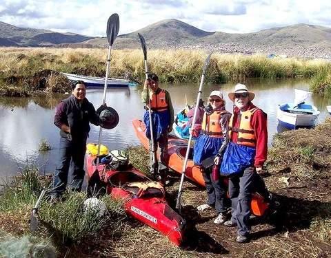 Kayak hasta la Isla de los Uros y Descubre Taquile