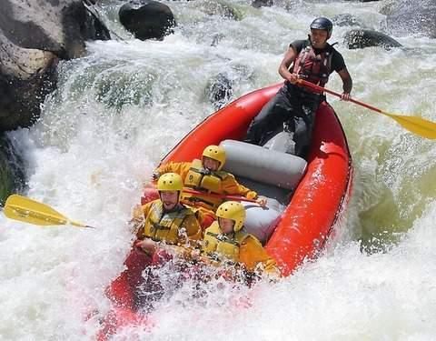 Rafting en el Río Chili - Arequipa
