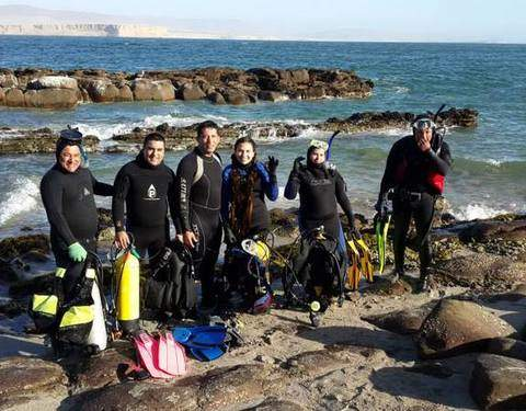 Diving in Paracas, Adventure in the Sea (Discovery Service)