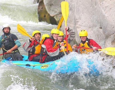Arequipa Rafting en el Río Chili