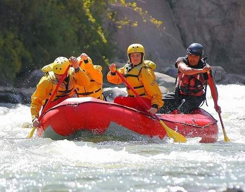 Arequipa - Rafting on the Chili River