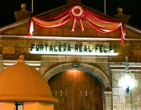 Tour Nocturno Fortaleza Real Felipe