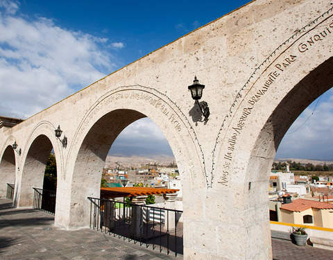 2d / 1n Arequipa and Colca Canyon at Hotel Casa Andina