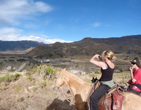 Horse Riding in the Colca - Yanque
