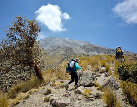 Trekking Al Volcán Misti