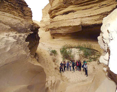 Cañón de los Perdidos Trekking en el Desierto