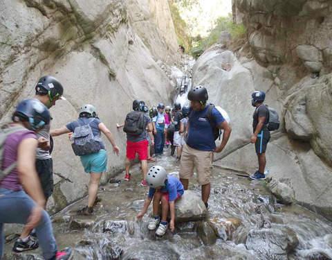Huanano (Rapel Opcional) -Toboganes de Songos (Canyoning)