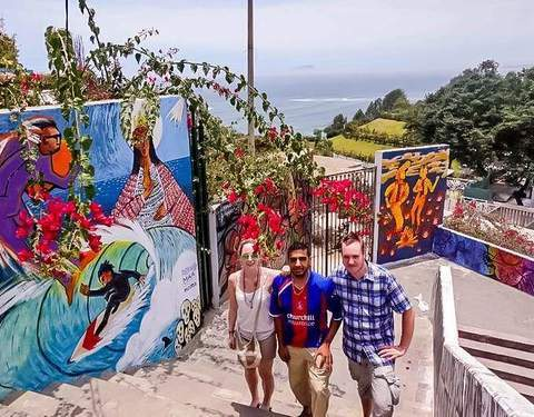 Tour of Colors and Peruvian Flavors (Chorrillos and Barranco)