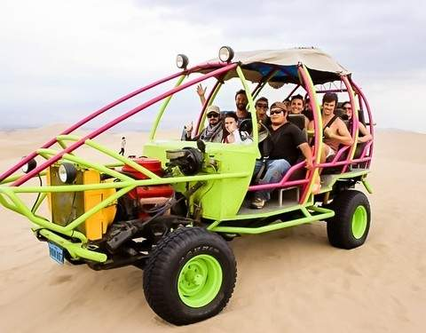 Adventure Tour in Ica - Buggies + Sandboarding (From Ica)