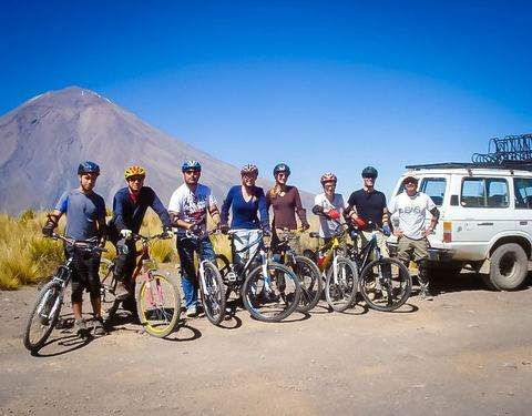 Descenso en Bicicleta - Chachani, Misti, Pichu Pichu