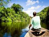 Paseo en canoa en Autentica Reserva Nacional Pacaya Samiria