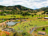 GRANJA PORCON en Cajamarca Natural y Mágico Religioso