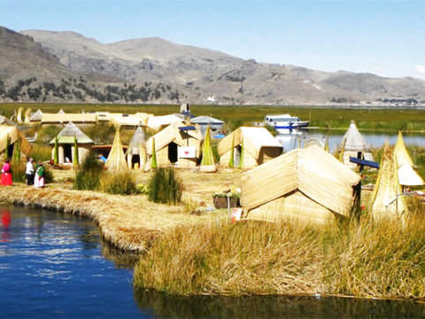 Uros and Taquile Island Floating Islands Tour + Hotel