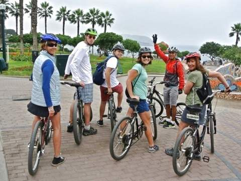 Bike Rental in Miraflores - Full Day - Maps and Routes