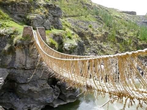Inca Q'Eswachaka Bridge