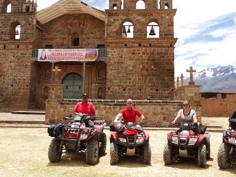 ATV by Maras, Moray and Salineras