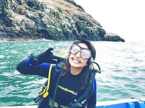 Discover Scuba Diving - Diving Christening in San Bartolo