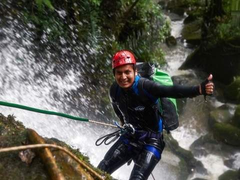 Canyoning Trekking Forest Giant Falls of Cuispes