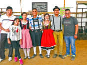 Danza tirolesa en Oxapampa