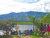 Laguna el Oconal in Villa Rica