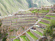 Andenaje, Macchu Pichu