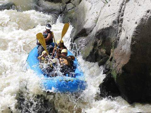 Rafting on the Chili River