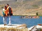 Laguna San Nicolas, donde disfrutaremos de un hermoso paisaje.