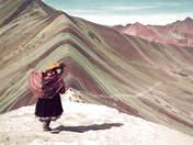 Foto de Montaña Arco Iris, Vinicunca, Montaña 7 Colores, Cerro Color