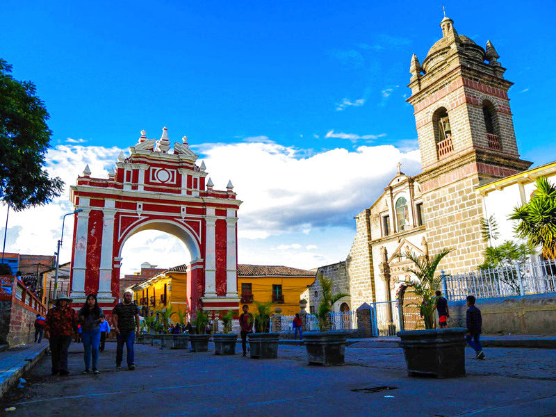Barrio de Huamanga Viaje a Ayacucho