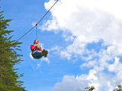 Canopy Adventure in the air