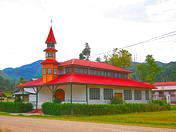 Main square of Chontabamba