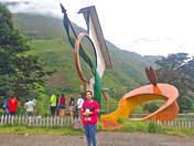 Geocentric point of Peru