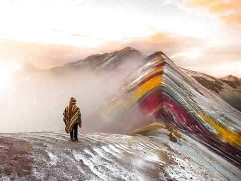 Mountain Rainbow, Vinicunca, Mountain 7 Colors, Cerro Color