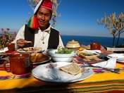 Tourist restaurant in Taquile
