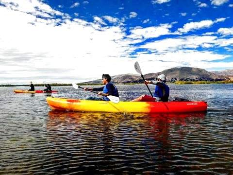 Kayak + Uros Half Day