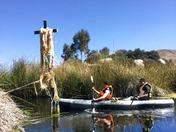 recorrido por la reserva del Titicaca en 2d/1n Kayak + Dormir en Uros
